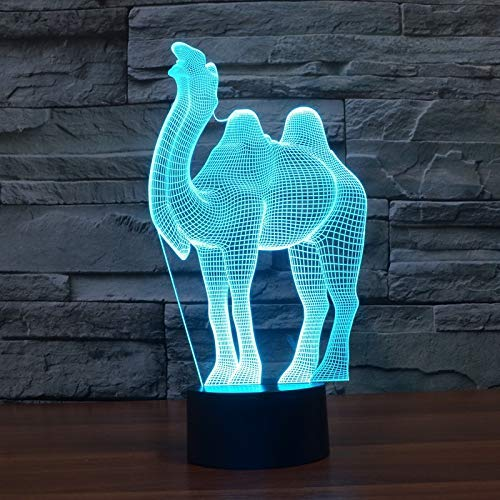 YKL World 3D Illusion Lamp LED Came…