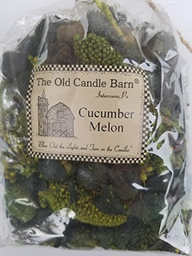 Old Candle Barn Cucumber Melon Potpourri Large Bag - Can be Used All Year Long - Perfect for Spring and Summer Decoration or Bowl Filler