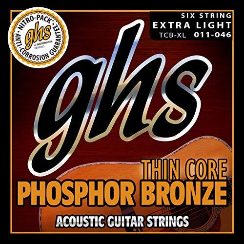 GHS Strings Acoustic Guitar Strings, None (TCB-XL)