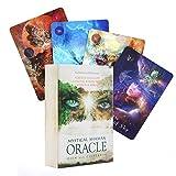 GYNFJK Oracle Mystical Shaman Oracle Cards Tarot l Oracle Card Board Deck Games Naipes para Juegos de Fiesta