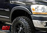 RDJ Trucks HWY-PRO OEM Style Fender Flares - Ram 1500 2002-2008 | Ram 2500/3500 2003-2009 - Set of 4 (Smooth Paintable)