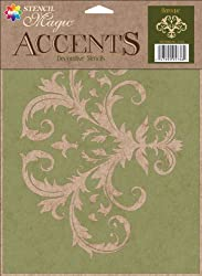 Stencil Magic Accents 8-1 2 x 11 25 -Baroque