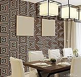 SD Stencil Cuadratta, plantilla decorativa reusable para pintar con efecto papel tapiz
