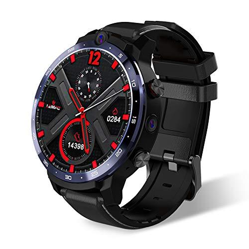 B&H-ERX 4G Smart Watch Face ID Cámara Dual Android 7.1 1800mah Batería 1.6 Pulgadas Pantalla Completa Smartwatch 3GB GPS