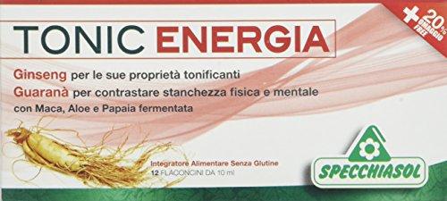 Specchiasol Tonic Energia, 12 Flaconcini da, 10 ml