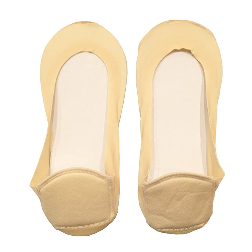 白菜パケット喜ぶDrScholl(ドクターショール)靴ずれ防止フットカバー かかとクッション付き 8804DR-80 ベージュ