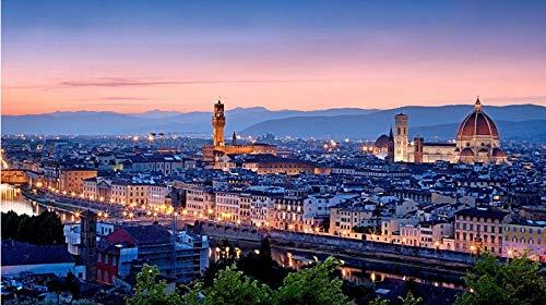 Puzzle 1000 Pezzi Firenze Toscana per Il Regalo del Festival per Adulti per Bambini