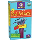 Annie's Homegrown Organic Fruit Peel-A-Parts Fruit Snacks, Strawberry Splits, 6 Count