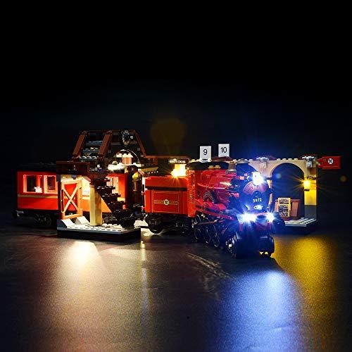BRIKSMAX Led Beleuchtungsset für Harry Potter Hogwarts Express, Kompatibel Mit Lego 75955 Bausteinen Modell - Ohne Lego Set