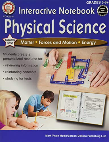 Mark Twain - Interactive Notebook: Physical Science, Grades 5 - 8