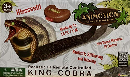 House of Animals - Serpent Cobra Réaliste Télécommandé
