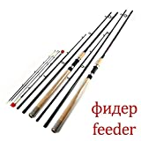FISHYY Canne À Pêche Feeder High Carbon Super Power 3 Sections 3.6M 3.9Mlmh Leurre Poids 40-120G Feeder Canne À Pêche Feeder Rod