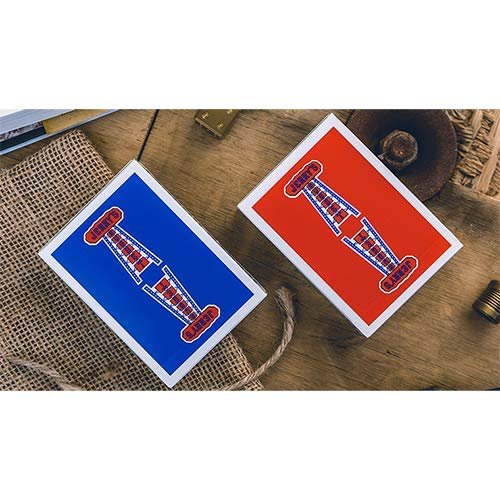SOLOMAGIA Modern Feel Jerry's Nuggets (Blue) Playing Cards