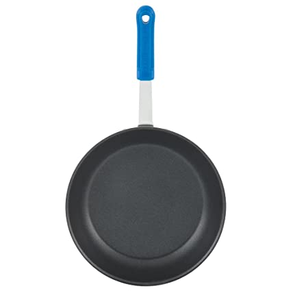 Vollrath EZ4010 Wear-Ever 10-Inch Ever-Smooth Fry Pan with Cool Handle,  Aluminum, NSF : Amazon.in: Home & Kitchen