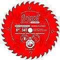 Freud P408 Premier Fusion Saw Blade 8 inch x 34t Hi-ATB 30° 5/8 inch arbor Perma-Shield Coated