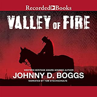 Valley of Fire audiobook cover art