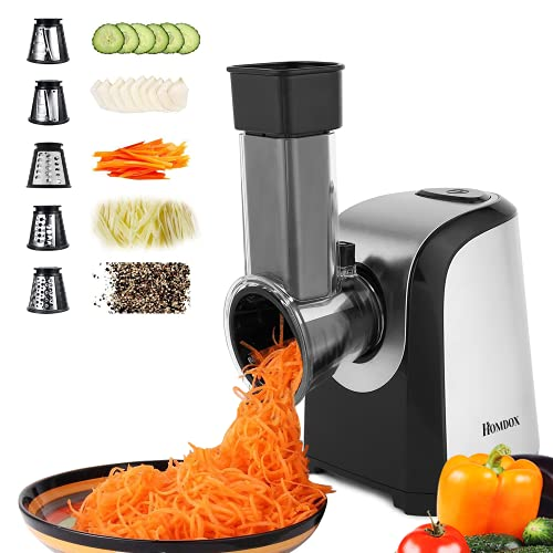 Homdox Salad Maker Electric Slicer Shredder Greater Electric Cheese...