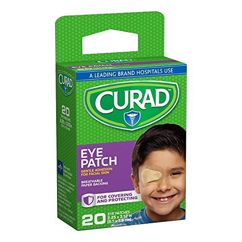 Curad Eye Patches Regular 20 Each (Pack of 4)