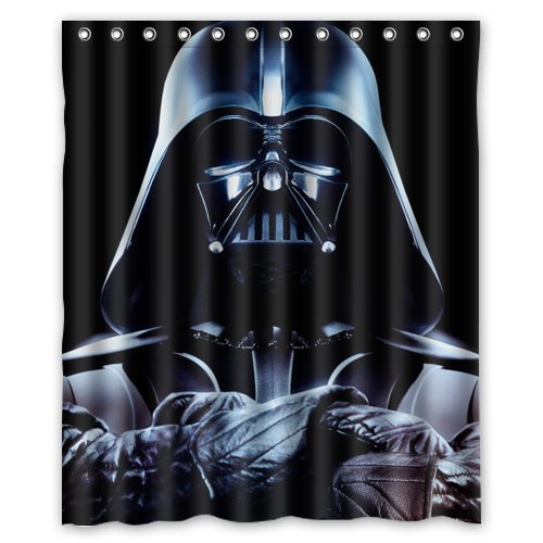 star wars darth vader cortina de ducha 60 x 182,88 cm