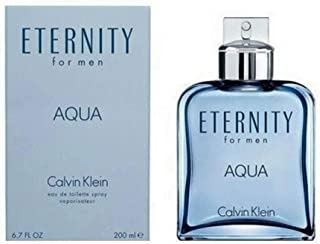 C K ETERNITY AQUA MEN by CK Eau De Toilette Spray 6.7 OZ.