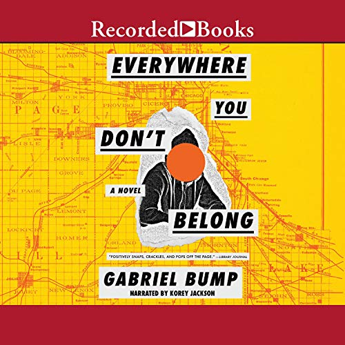 Everywhere You Don't Belong audiobook cover art