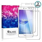 Ycloud [3 Pack] Protector de Pantalla para Huawei Nova Young / Y5 III,[9H Dureza/0.3mm],[Alta Definicion] Cristal Vidrio Templado Protector para Huawei Nova Young / Y5 III
