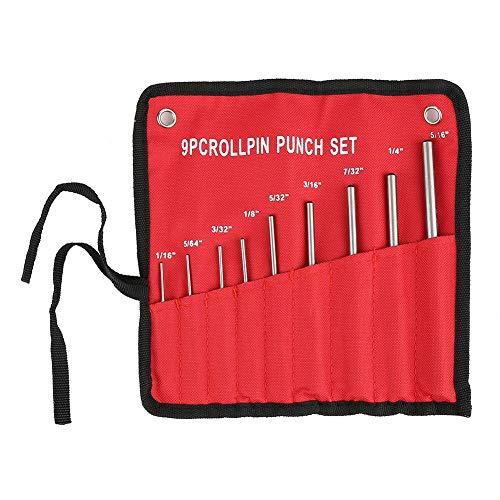 Nimao Pin Punch 9-delig professioneel center-pons-markeringsgereedschap