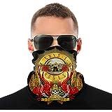 Face Bandana For Unisex Headband Scarf Half Face Neck Gaiter Wrist Band Headwrap Neckerchief Balaclava Bonnet-Guns N' Roses Europe X South America 2020