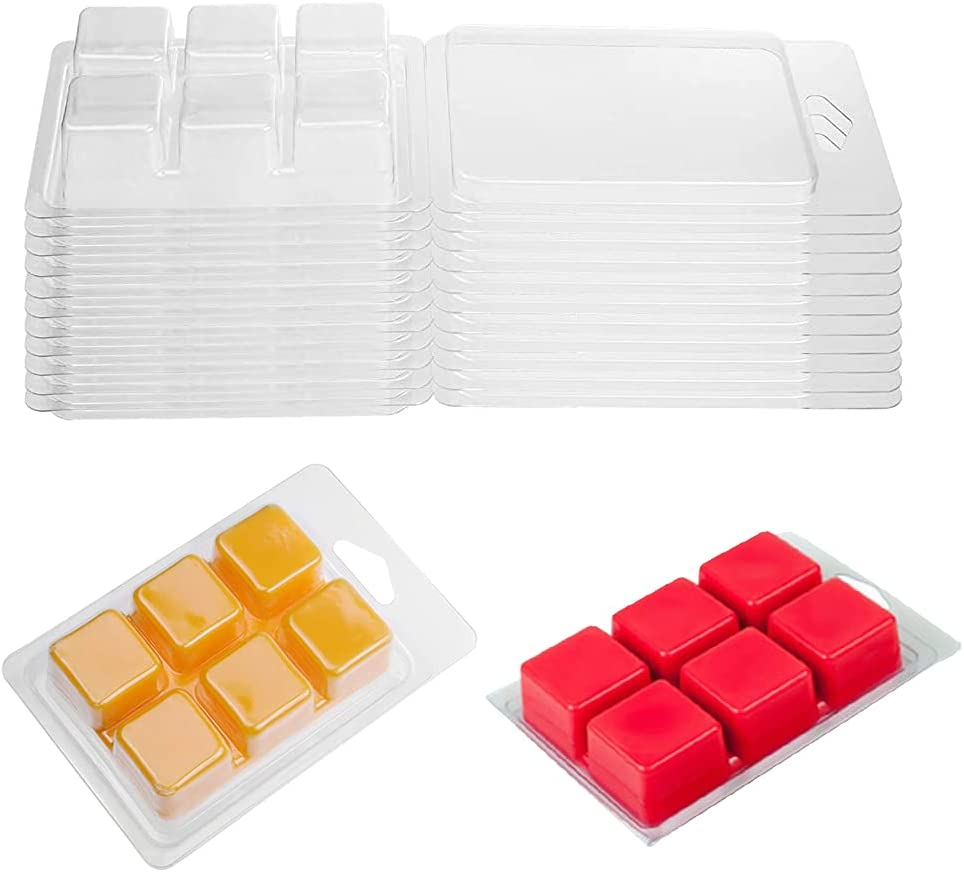 issdem Wax Melt Containers Bulk Daily bargain sale Packa 50 Pack Clamshell Super Special SALE held
