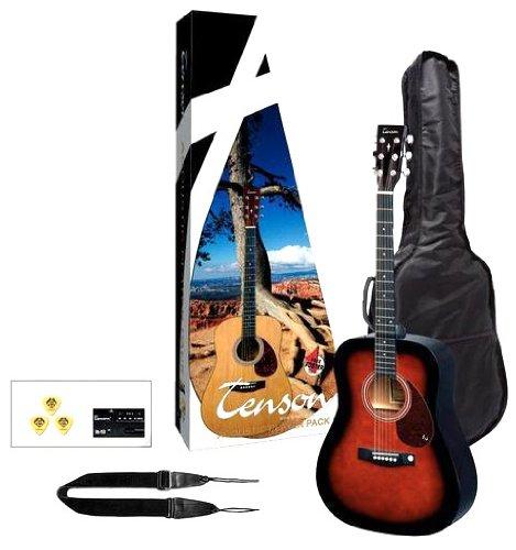 Tenson F502212 Akustikgitarre Player Pack