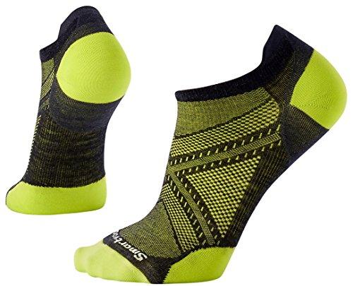 SmartWool Men's Phd Run Ultra Light Micro Socks (Black/Black) Large