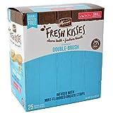 Merrick Fresh Kisses Mint Double-Brush Dental Treats - Small 25 Count