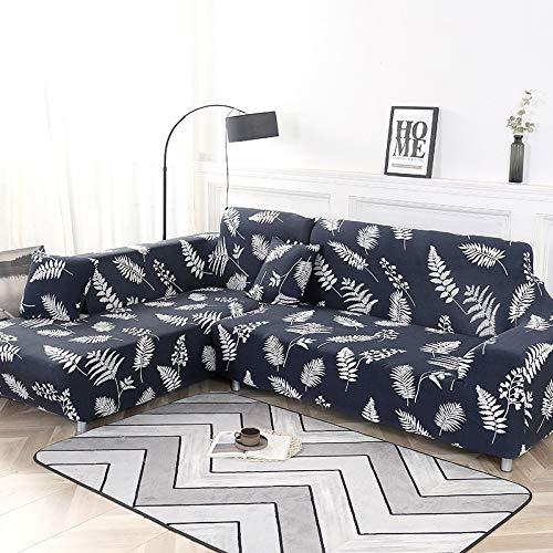 WXQY Elastische Sofabezug Elastische Sofabezug Wohnzimmer Sofabezug, L-förmige Ecke Chaiselongue Longue Sofabezug Sessel A22 1-Sitzer