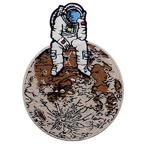 Parche termoadhesivo para la ropa, diseño de Astronauta Spaceman perdido en Lonely Planet