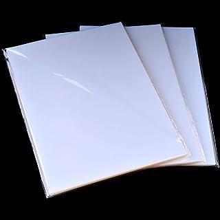 "8.5"" x11"" Waterproof Inkjet Transparent Film 100 Sheets Silk Screen Printing Film(Shipping from SF.CA US)"