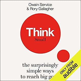 Think Small                   By:                                                                                                                                 Owain Service,                                                                                        Rory Gallagher                               Narrated by:                                                                                                                                 Joe Jameson                      Length: 5 hrs and 46 mins     6 ratings     Overall 4.3