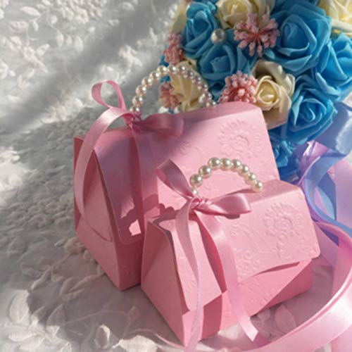 N-B Party Wedding Favor Candy Boxes Baby Shower Bag DIY Creative Candy Box Romantic Mariage 20pcs