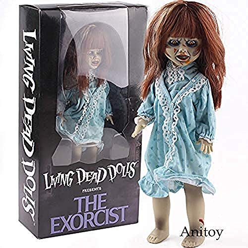 WXxiaowu MEZCO Living Dead Dolls presenta la película de terror exorcista de PVC figura de acción coleccionable modelo de juguete