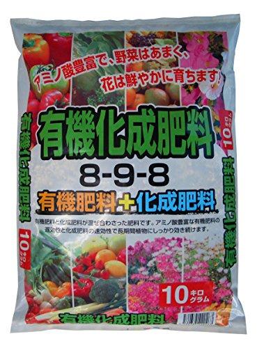 クリエ・ジャパン 有機入りでアミノ酸補給 効き目が早くてどんな植物にも簡単に使える! 有機入り化成肥料 10�s