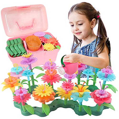 Dreamy Cubby Gift for 3-6 Year Old Girls Gift for Toddler Flower Garden...