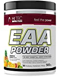 Hi Tec Nutrition - EAA Pulver 500g - AAE Powder - Top Löslich - Hoch Dosiert - Geschmack (Tropical...