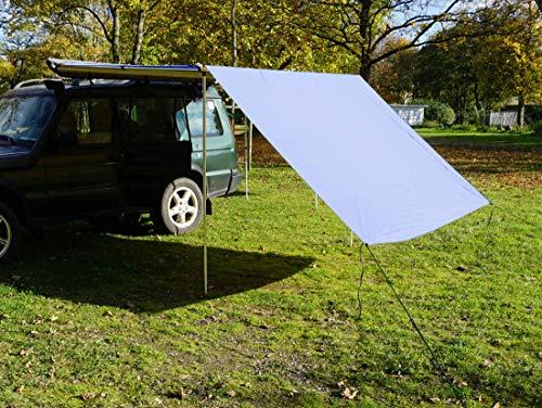 Prime Tech Tarp/Erweiterung zu Fahrzeugmarkise 200cm in grau