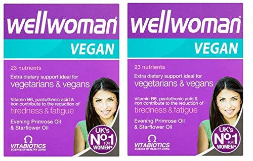 (2 Pack) Vitabiotics Wellwoman Vegan 60 Tablets