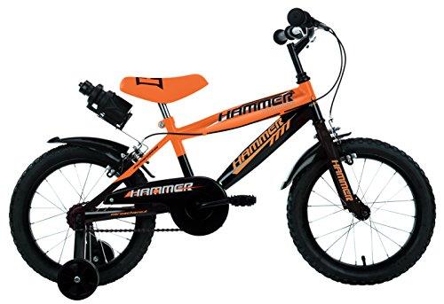 Mario Schiano 248 16' Hammer New 01V Bike, Arancione/Nero, Multi Colore