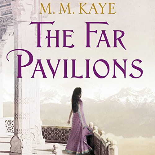 The Far Pavilions audiobook cover art