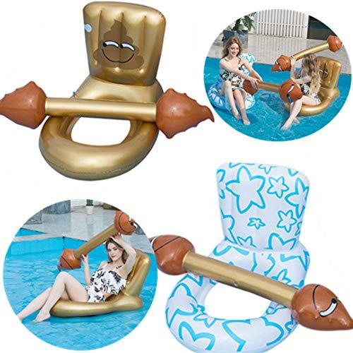 2 STKS Opblaasbare Zwembad Drijvende Stoel, Zwembad Strand Speelgoed, Water Sofa Stoelen, Feestartikelen, Zwembad Ligstoelen En Drijvers Voor Volwassenen En Kinderen