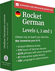 top 10 learn german software Learn German at Raketendeutsch Levels 1, 2 and 3 sets: 360 hours of online language lessons and …