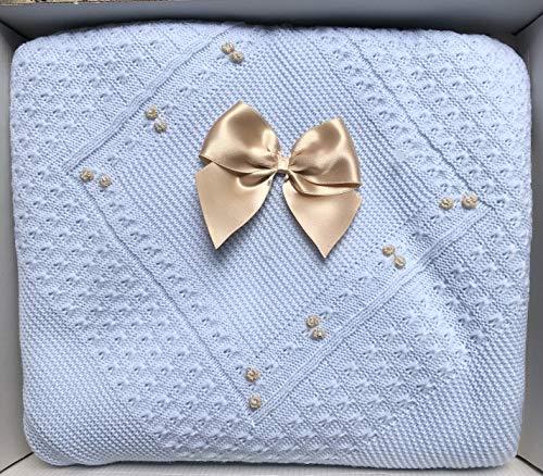 HC Enterprise,Toquilla para bebé,color azul