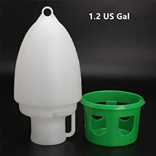 Bird Water Drinker Feeder 4.5L Pigeon Handle Plastic Pot Dispenser Container Pigeons Poultry Birds Supplies Tools