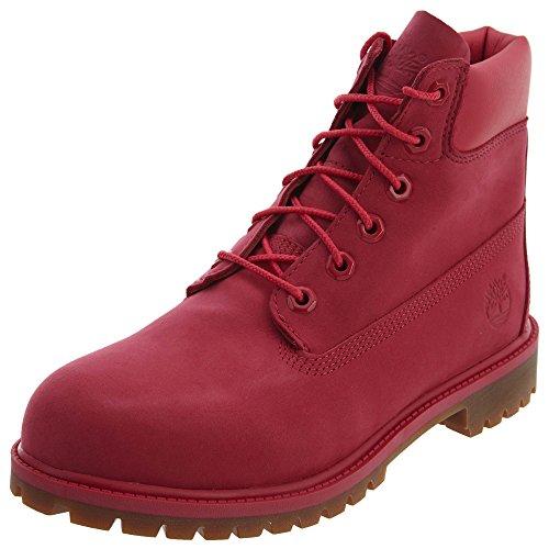 Timberland Timberland Unisex-Erwachsene 6 In Premium Wp Boot A1ode Klassische Stiefel, Pink (Rose Red), 36 EU